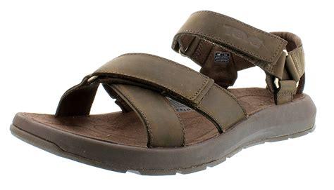www sandals teva high heels teva s berkely leather sandal shoes
