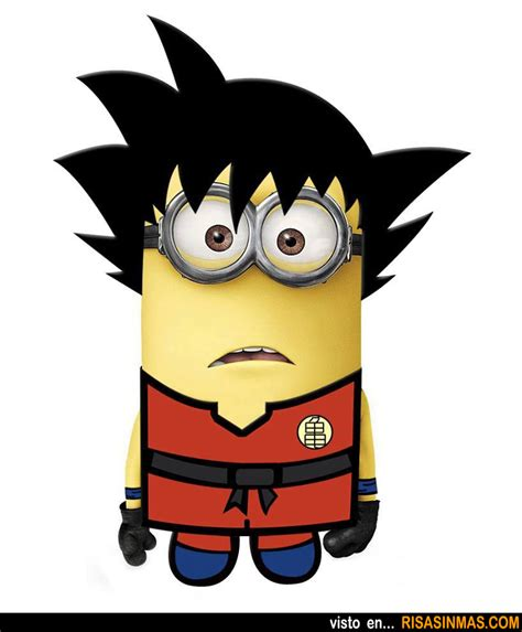 imagenes de goku rockero minion de goku