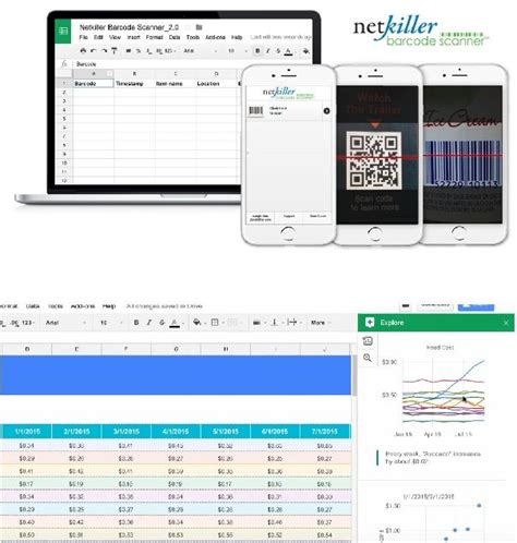 Why Barcode Scanner With Google Sheets Is Better Than Excel Netkiller Prlog Excel Inventory Template Barcode Scanner