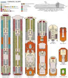 Carnival Floor Plan by Carnival Glory Deck Plan Viewing Gallery