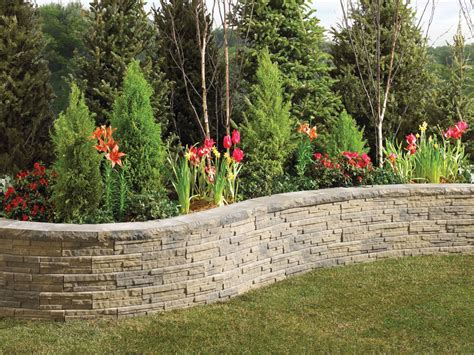 garden blocks for retaining wall ledgewall garden retaining wall blocks from anchor wall
