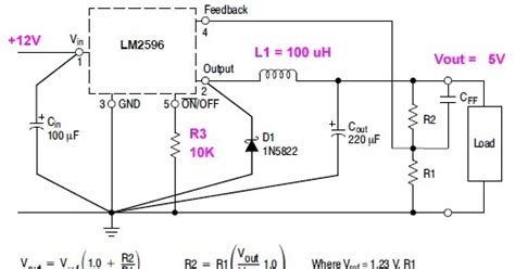 use of inductor in power supply fongeye power supply lm2596 design inductor value