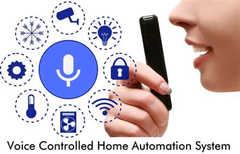 voice recognition based home automation system