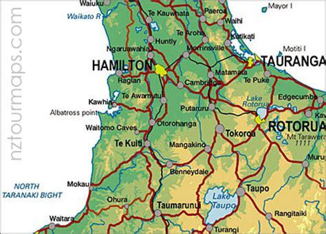 printable road map north island new zealand political map of rotorua new zealand political map of