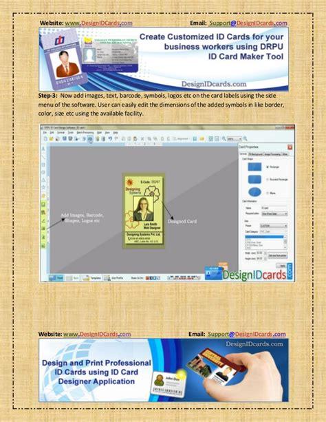 id card printing design software design and print professional id card drpu id card maker