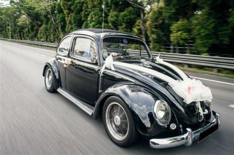 Wedding Car Volkswagen by Vintage Classic Volkswage Beetle Bridal Wedding Car With