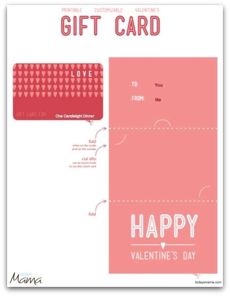 valentines card template pdf printable gift certificate template gift
