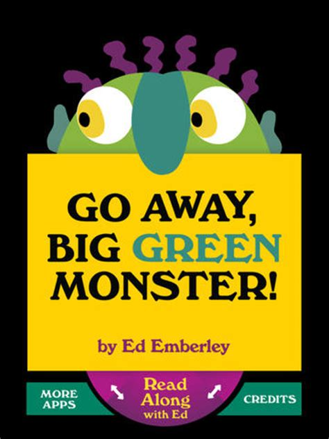 go away green go away big green monster for ipad dans l app store