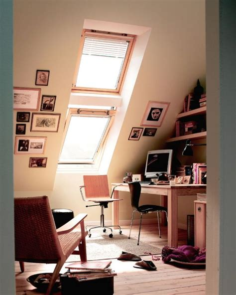 How To Decorate My Living Room by 30 Cozy Attic Home Office Design Ideas