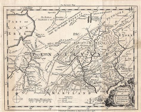 map of penn pennsylvania s anarchist experiment 1681 1690 the