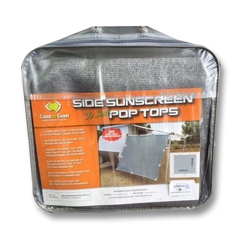 roll out awning for pop top caravan coast pop top privacy screen sun shade end wall side for caravan roll out awning ebay