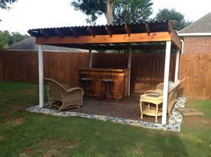 Outdoor Wood Furniture Building Plans by Outdoor Pallet Bar Pallet Ideas 1001 Pallets