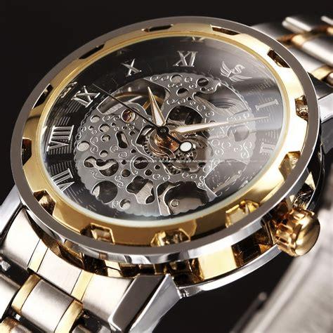 black gold watches relogio masculino watches