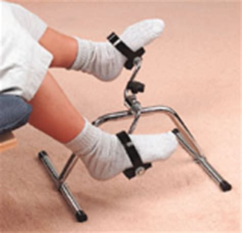 Armchair Pedal Exerciser by Wooden Back Scratcher