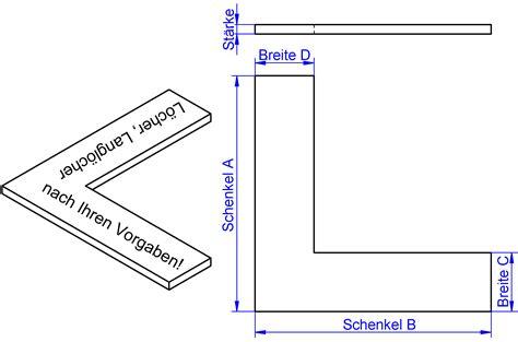 Schiebetüren Nach Mass by Winkel Nach Ma 223 Edelstahl Winkel Stahlwinkel Verzinkt