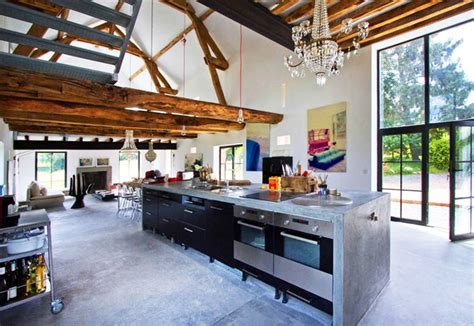 drool this stunning burgundy barn renovation by