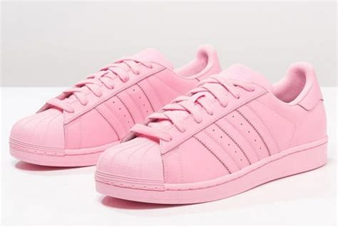 adidas originals supercolor superstar baskets basses light pink prix promo baskets femme zalando