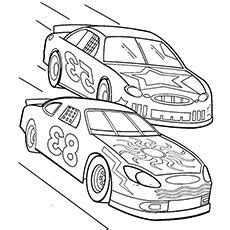 kid race car drawing race car color pencil and in color race car