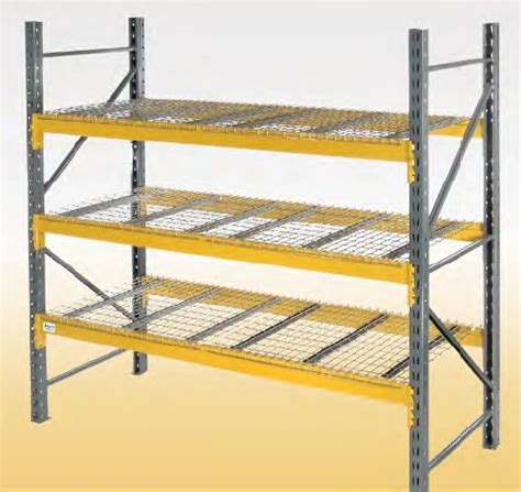 rack of a plus warehouse announces an upgrade to their pallet racks components page