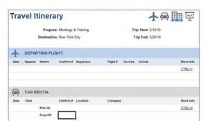 flight itinerary template 30 itinerary templates travel vacation trip flight