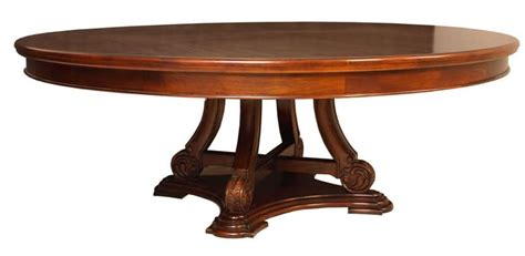 Round Pedestal Dining Room Table Solid Wood Amp Mahogany Furniture Akd Furniture