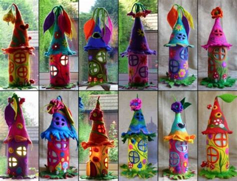 How To Make Paper Fairies - how to make a house how to