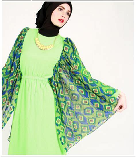 9 model contoh gambar desain baju muslim wanita modern jaman sekarang modelsandalsepatu