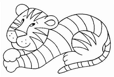 imagenes para pintar tigre desenho de tigre para colorir desenho para colorir net