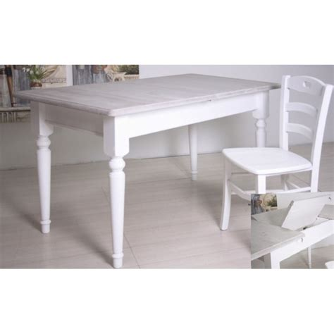 tavolo provenzale bianco tavolo provenzale legno bianco etnico outlet mobili etnici