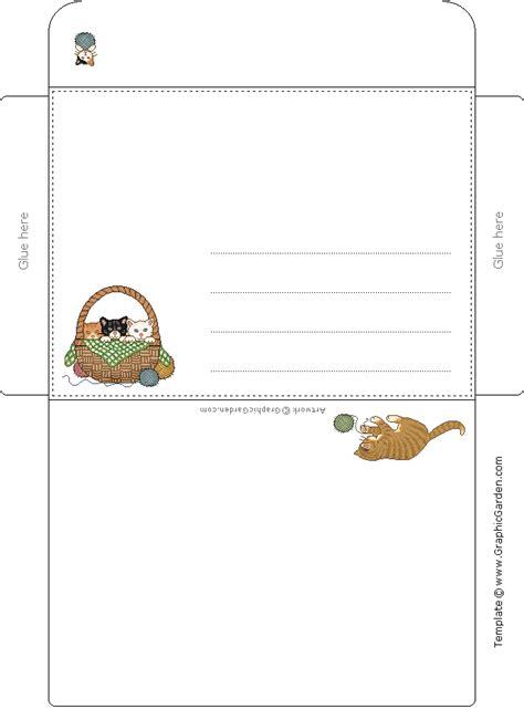 printable animal envelopes free printable envelopes