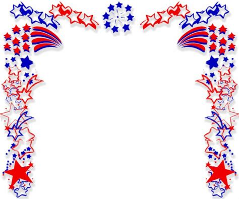 Free Patriotic Clipart free patriotic clip borders clipart best