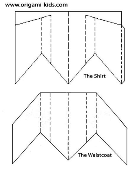 How To Make A Tuxedo Out Of Paper - origami suit by jonathan shackleton cards masculine