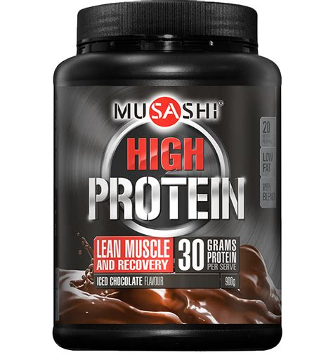 L Hi Protein 2 Go Musashi P30 High Protein Powder Musashi Quality