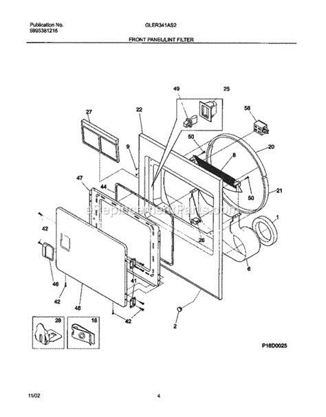 frigidaire gler341as2 dryer wiring diagram maytag