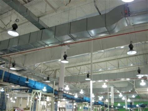 electrical contractors led lighting high bay led lighting installation in toronto led