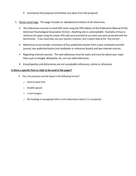 apa format group proposal h bio research proposal