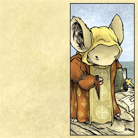 characters mouseguard