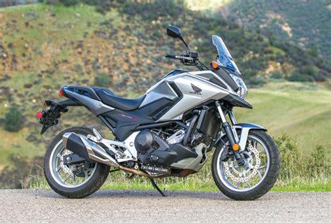 honda nc 700x 2016 honda nc700x dct tour test review rider magazine