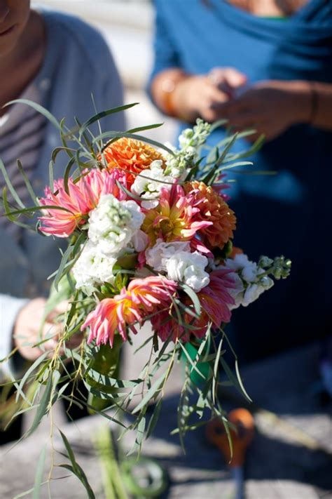cheap wedding bouquets with grocery store flowers a practical wedding a practical wedding we