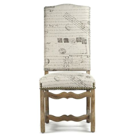 script dining chair canada marcelle country linen script camel back dining