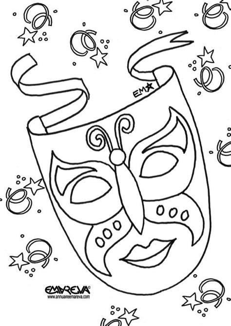 mask carnival recherche google coloriage a imprimer