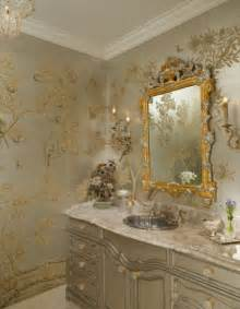 Chinoiserie chic traditional powder room dallas by hayslip