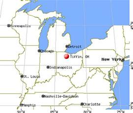 Tiffin Ohio Map by Tiffin Ohio Oh 44883 Profile Population Maps Real