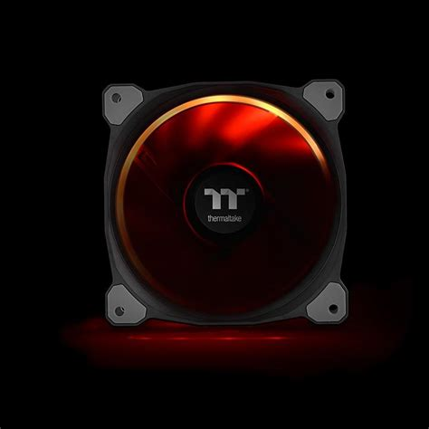 Thermaltake Riing 12 Rgb Radiator Fan Tt Premium 3pack riing plus 12 rgb radiator fan tt premium edition 3 fan