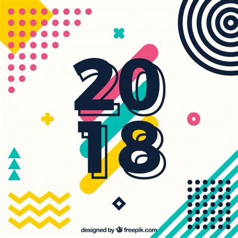 new year freepik new year 2018 background vector free