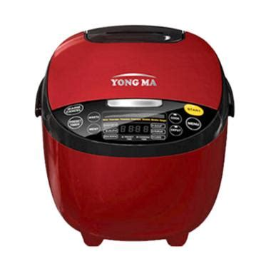 Yong Ma Ymc110 Digital Rice Cooker jual yong ma ymc211 digital rice cooker merah 2l
