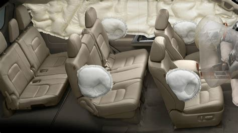 curtain airbag system toyota landcruiser 200 features car safety srs airbags