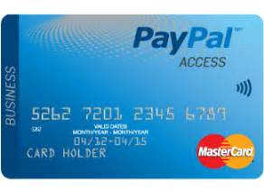 paypal prepaid business card the paypal access personal prepaid mastercard paypal uk