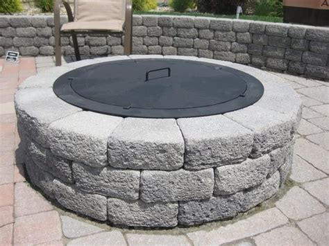 pit lid search outdoors patio