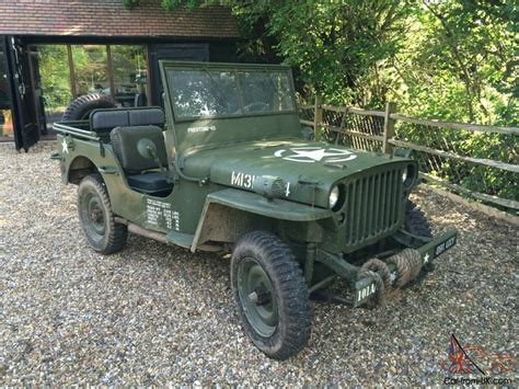 willys jeep ww2 hotchkiss jeep 1962 not ford willys gpw ww2 wwii mb